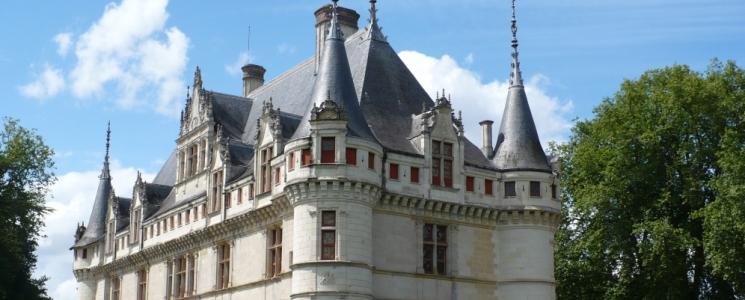 Château d\'Azay le rideau : Château France - Azay-le-Rideau à visiter ...