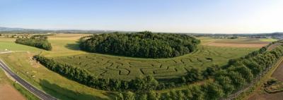 labyrinthe geant lyon