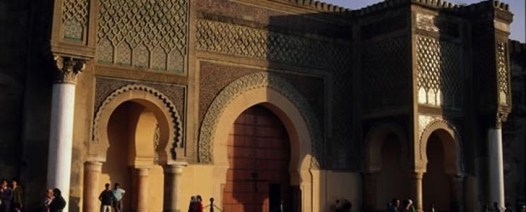 La porte bab el mansour monument maroc mekn s visiter et voir - Consulat du maroc porte de versailles ...
