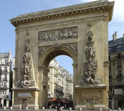 Porte saint denis monument france paris visiter et voir - Petit jardin en pot saint denis ...