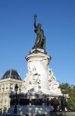 statue de la r publique monument france paris visiter et voir. Black Bedroom Furniture Sets. Home Design Ideas